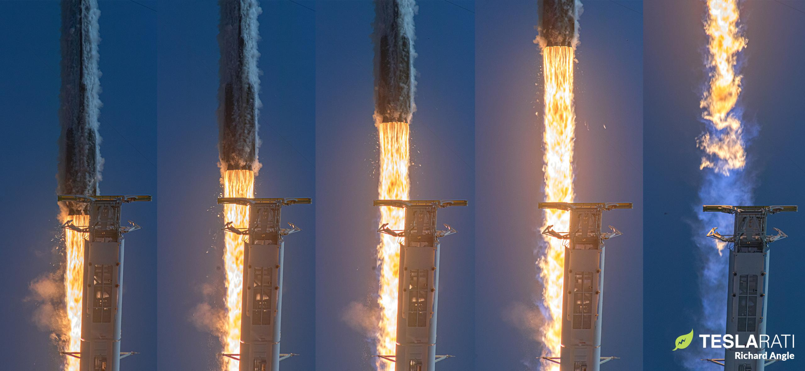 Starlink-11 Falcon 9 B1060 LC-39A 090320 (Richard Angle) launch mosaic 1 edit (c)