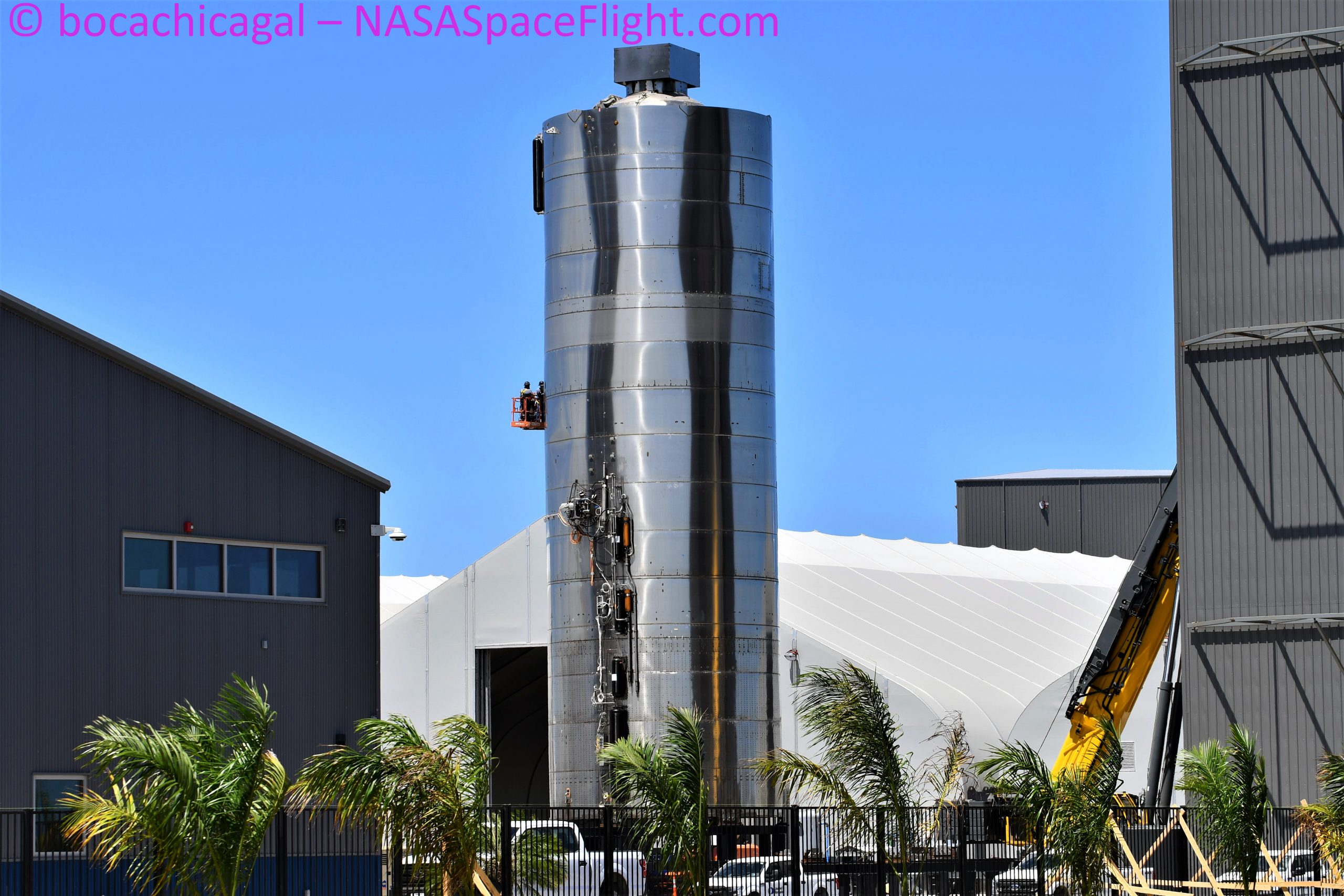 Starship Boca Chica 082920 (NASASpaceflight – bocachicagal) SN5 1