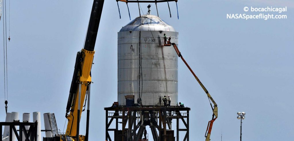 SpaceX Starship test tank set for destructive finale after 'cryo proof'
