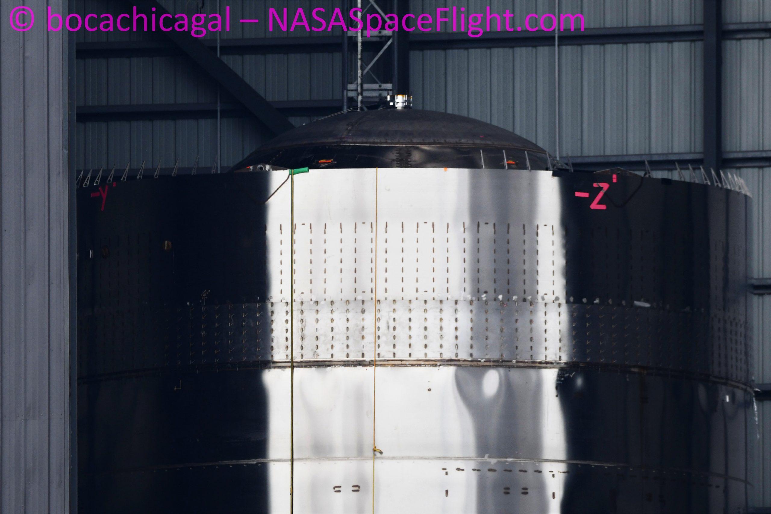 Starship Boca Chica 091320 (NASASpaceflight – bocachicagal) SN8 1