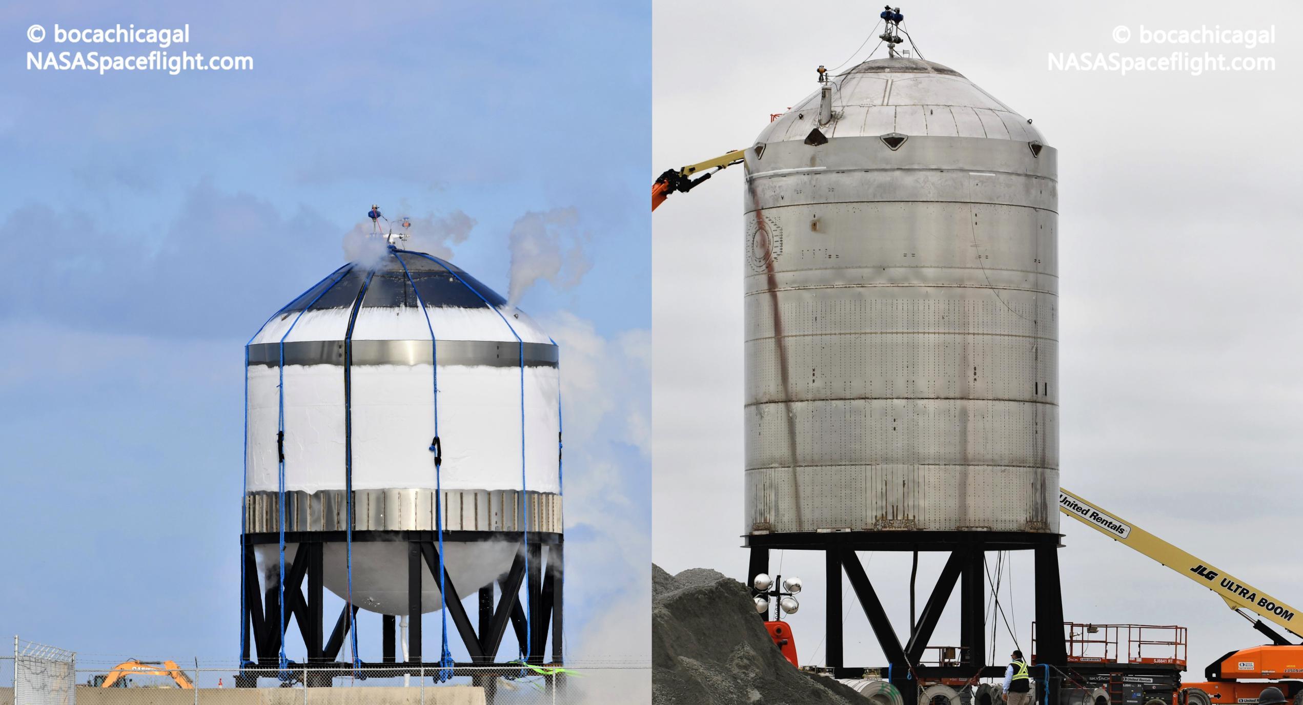 Starship SN7 vs SN7.1 061520 092120 (NASASpaceflight – bocachicagal) 1 (c)