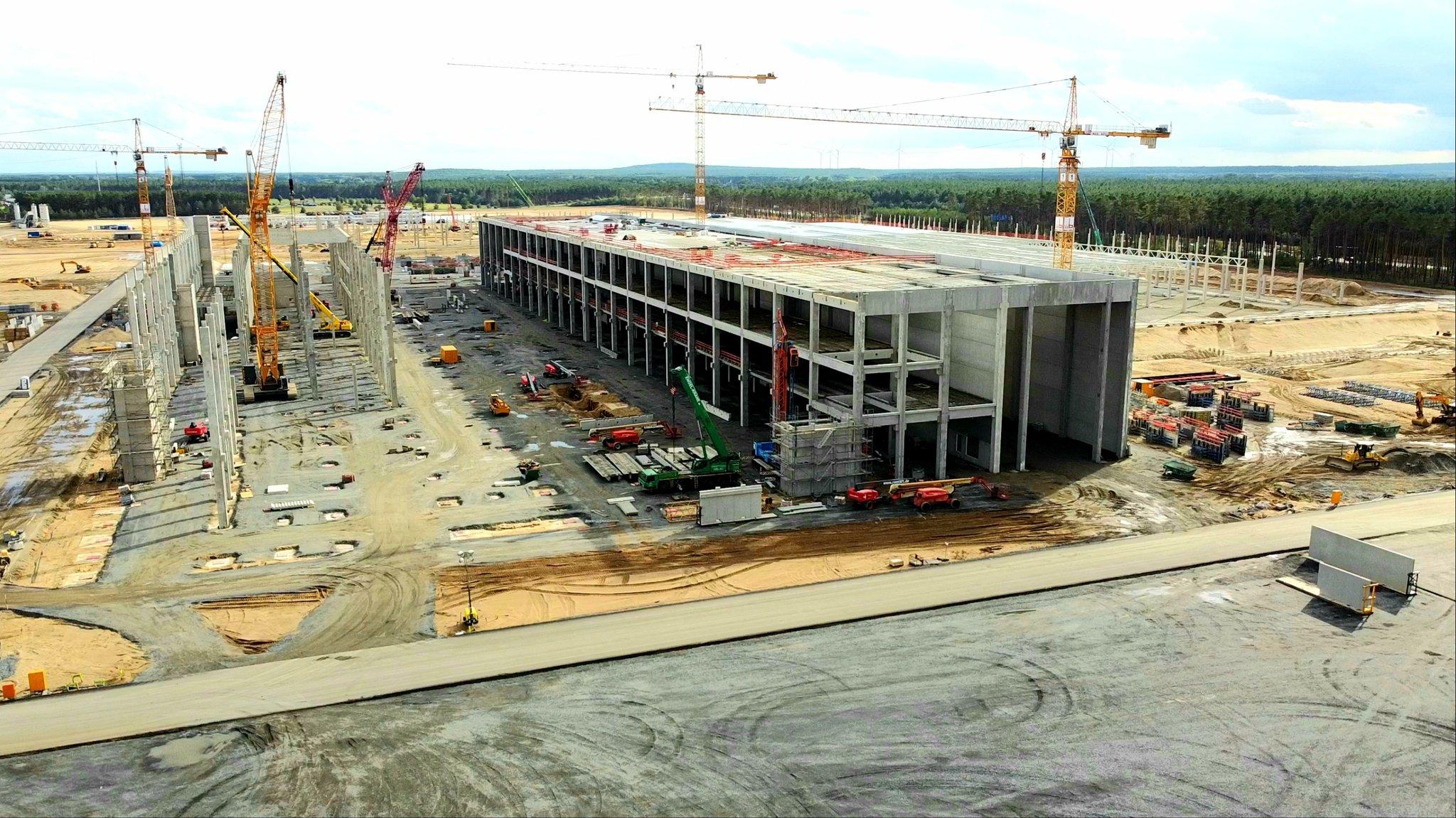 Tesla's Gigafactory in Brandenburg will create 40,000 jobs