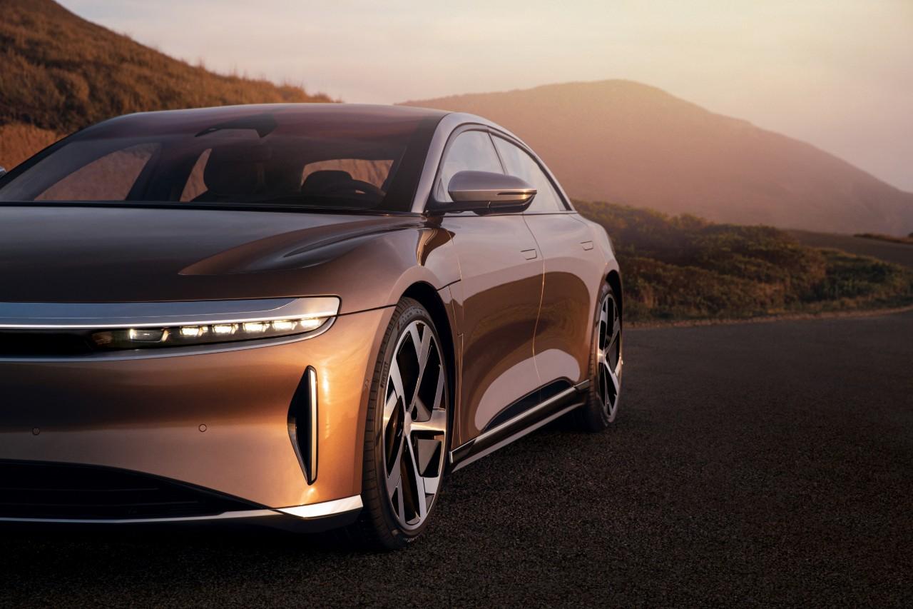 Lucid Motors unveils electric luxury sedan to be made in Arizona