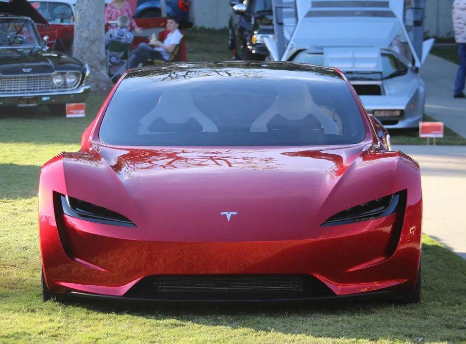 Tesla Roadster at Tesla Battery Day 2020