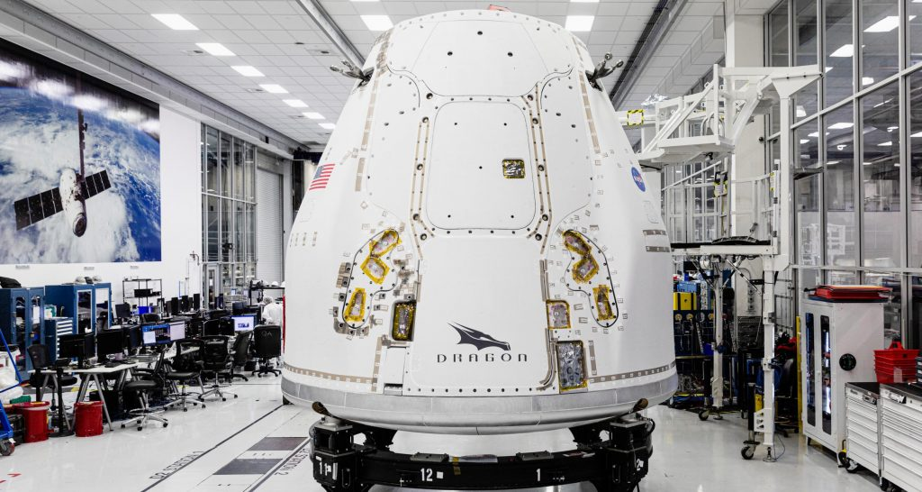 SpaceX ships upgraded cargo spacecraft to Florida for first orbital Dragon rendezvous
