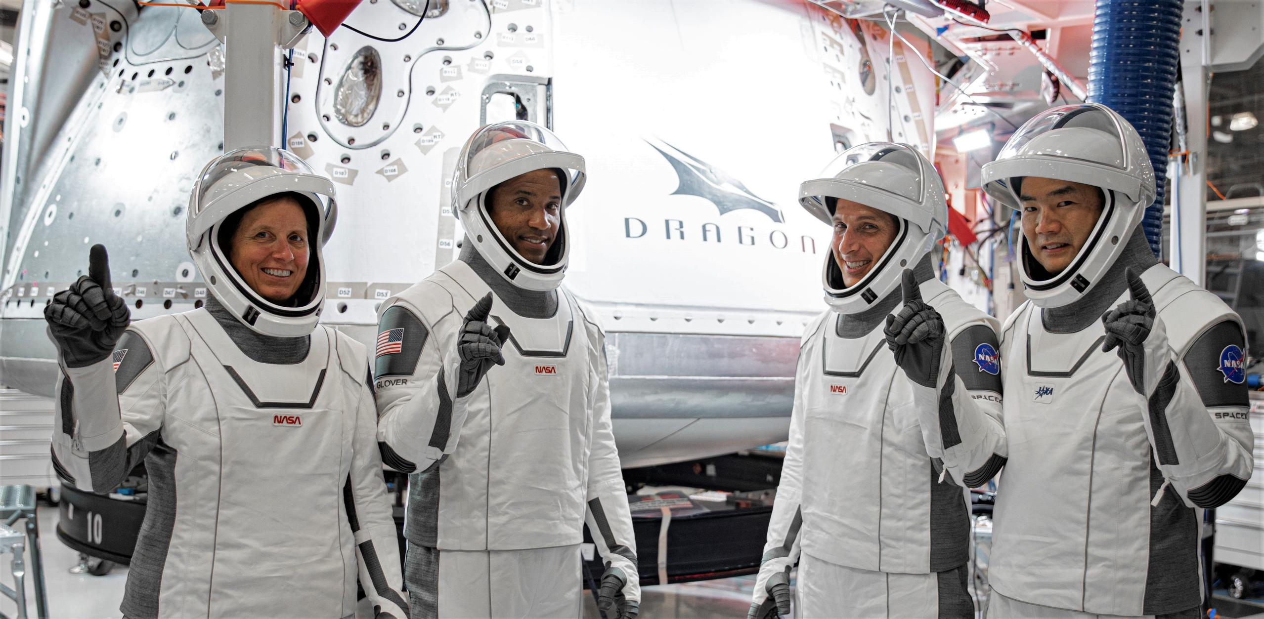 Crew-1 Crew Dragon Hopkins Noguchi Glover Walker Aug 2020 training (SpaceX) 3 crop (c)