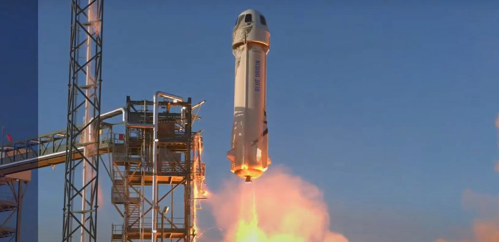 SpaceX competitor Blue Origin completes first suborbital launch in 10 months