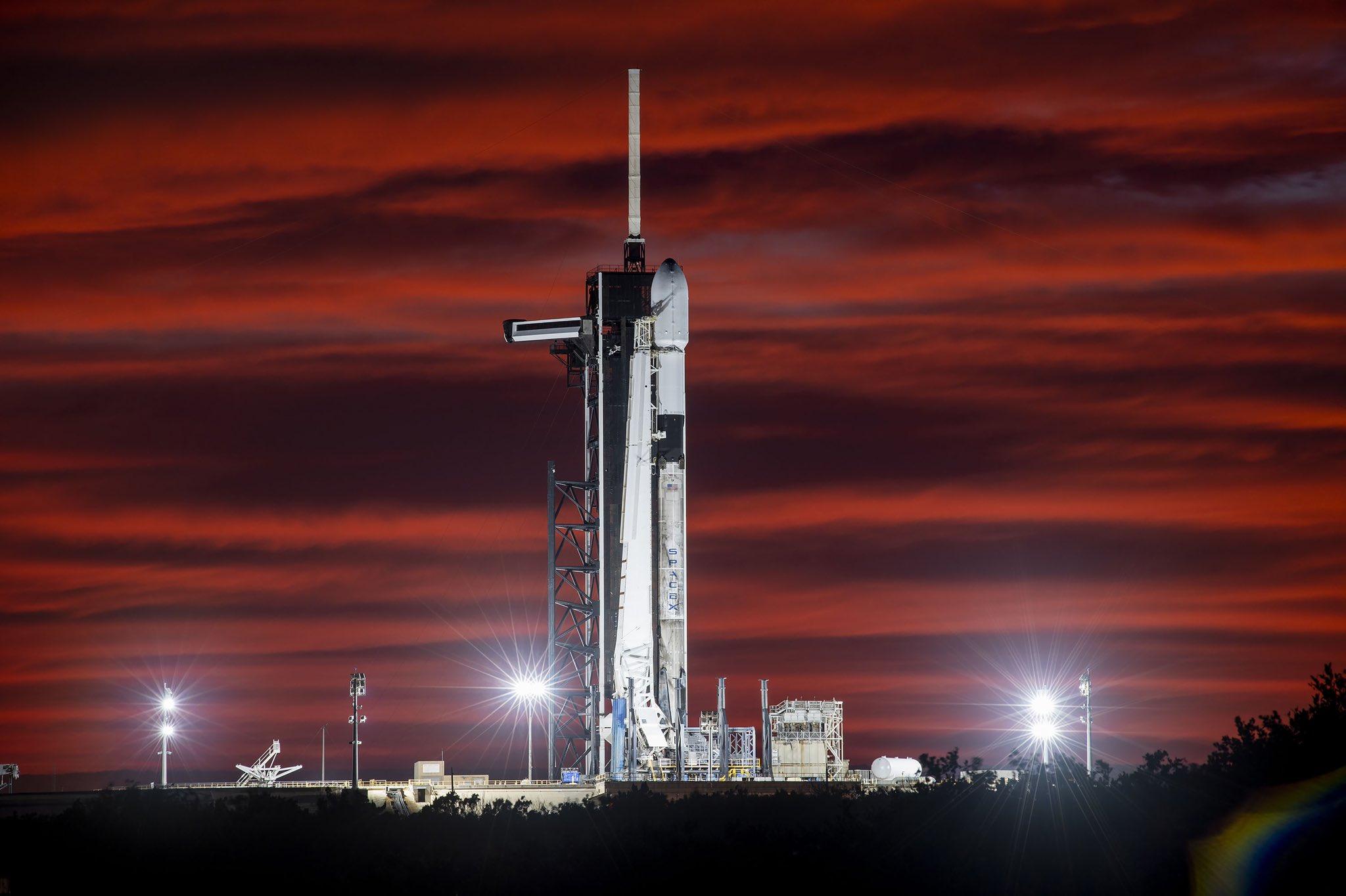 Starlink-12 F9 B1058 39A 100320 (SpaceX) 1