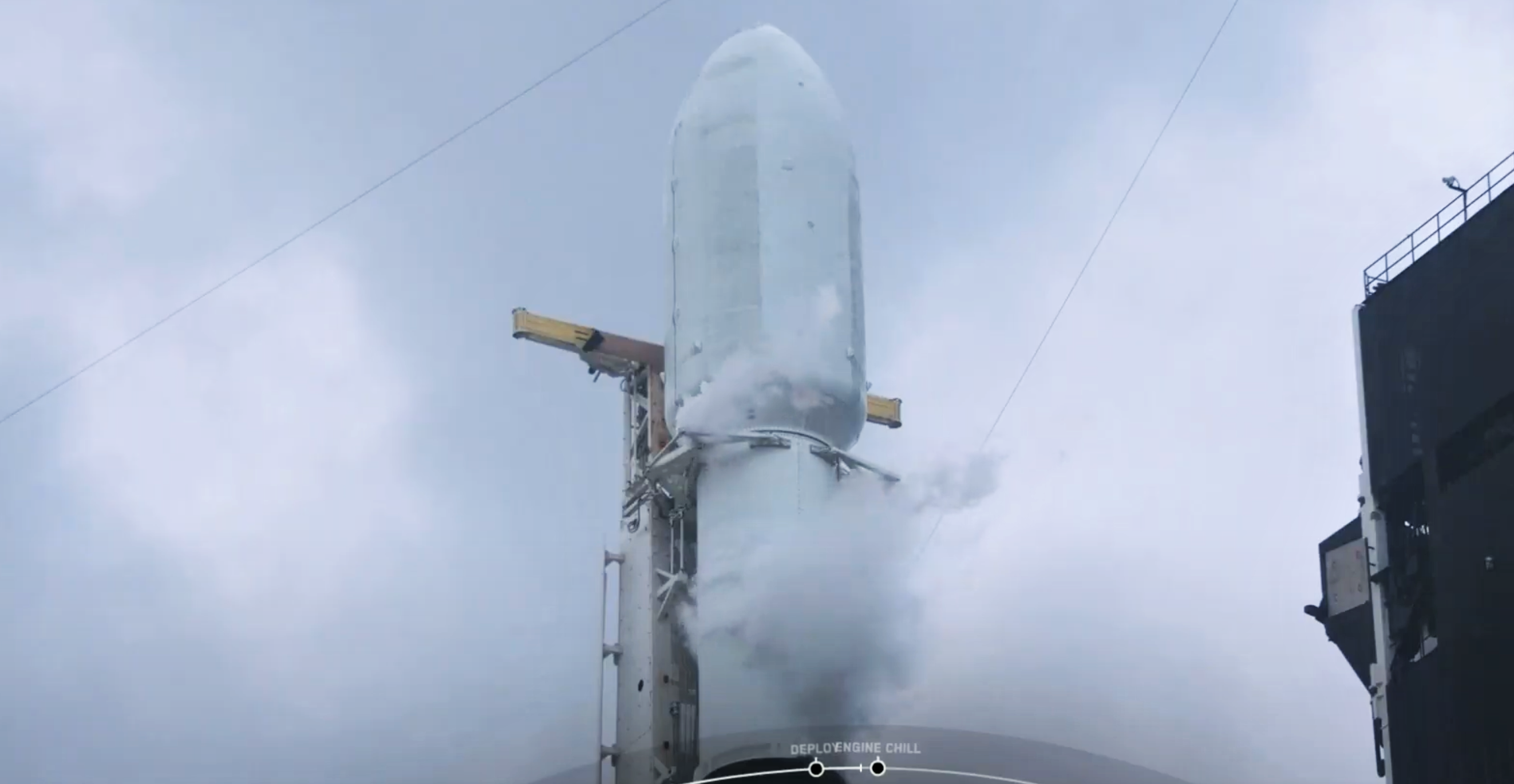 Starlink-12 Falcon 9 B1058 Pad 39A 092820 webcast (SpaceX) 3