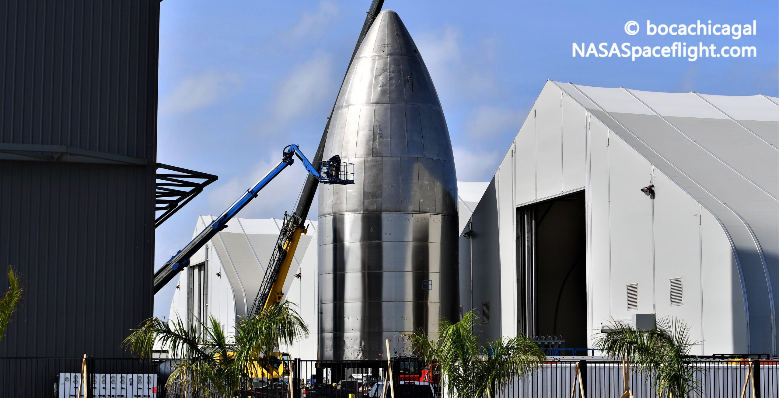 Starship Boca Chica 101420 (NASASpaceflight – bocachicagal) nose 4 crop
