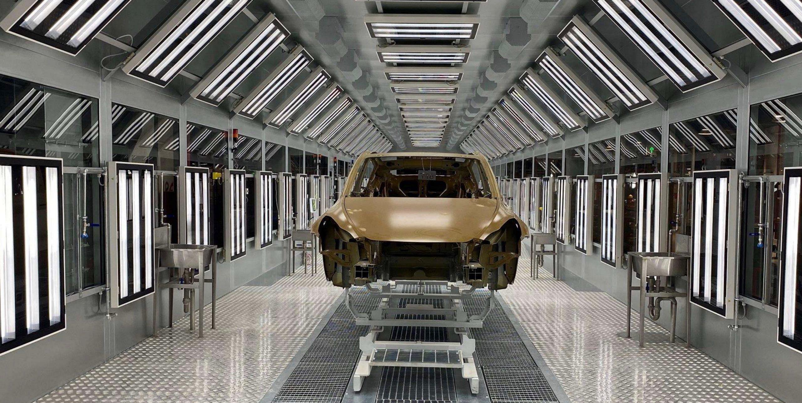 Tesla-Giga-Shanghai-Model-Y-Paint-Shop