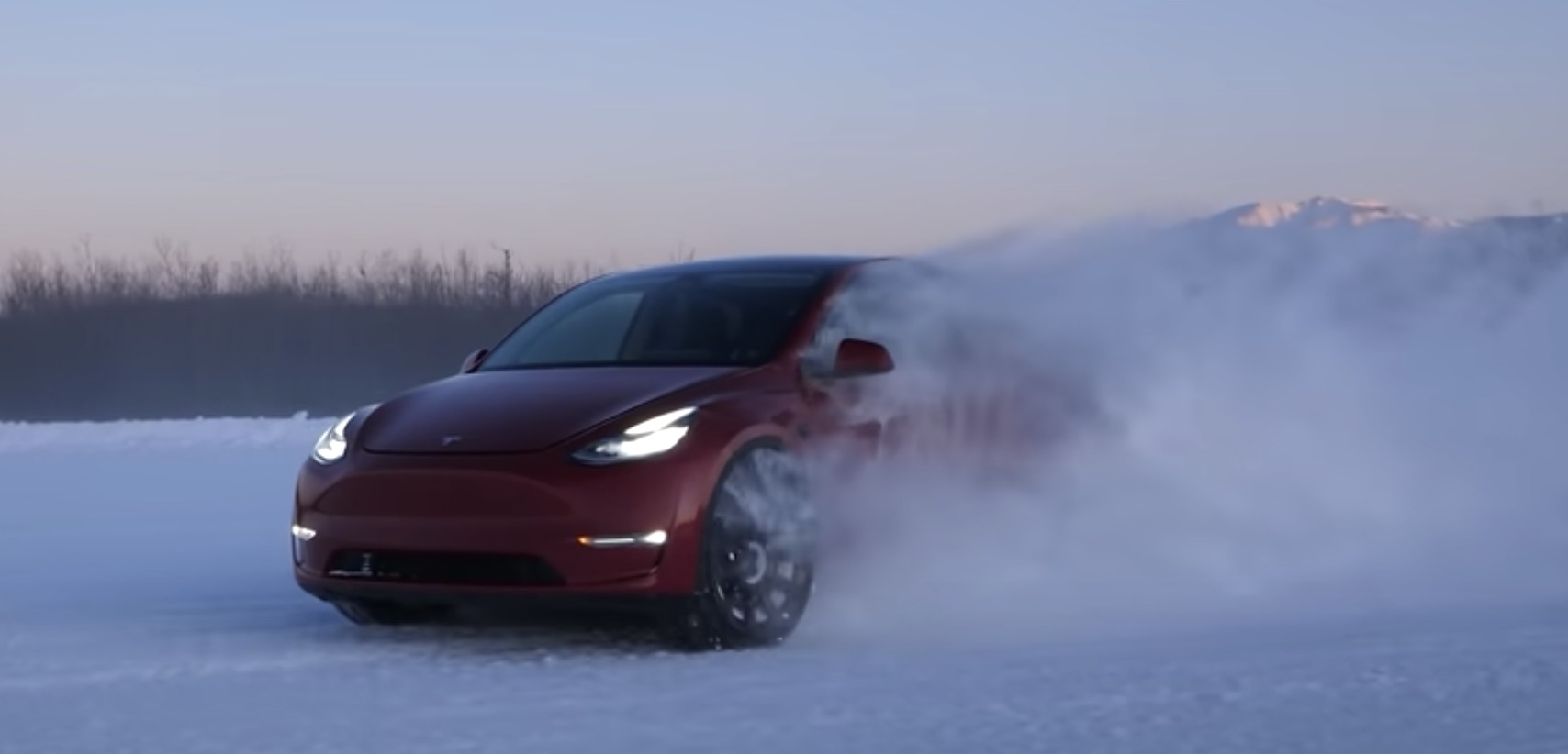 Tesla Model Y efficiency exceeds Model 3 in real-world winter driving test