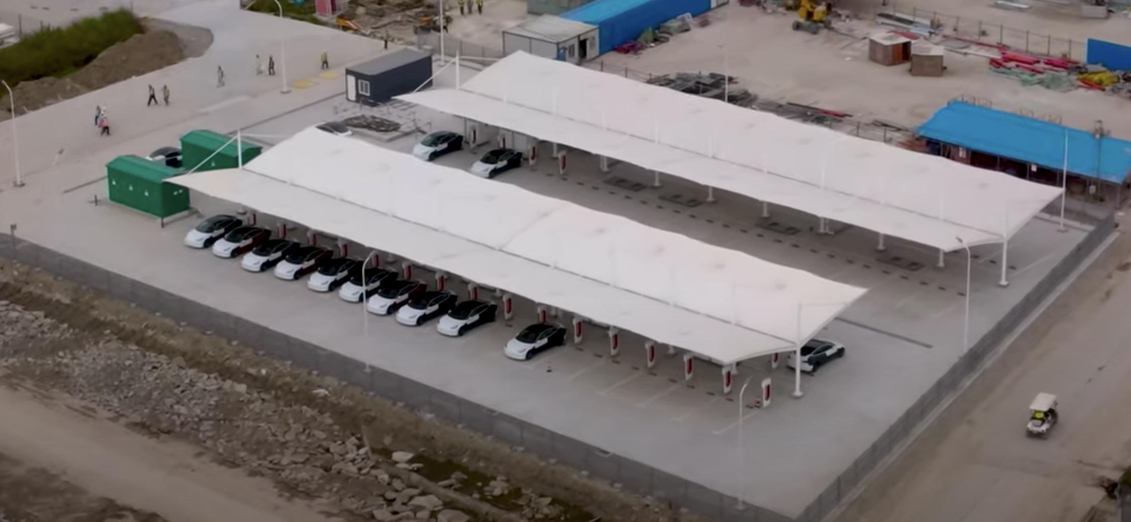 Tesla-Supercharger-Gigafactory-Shanghai