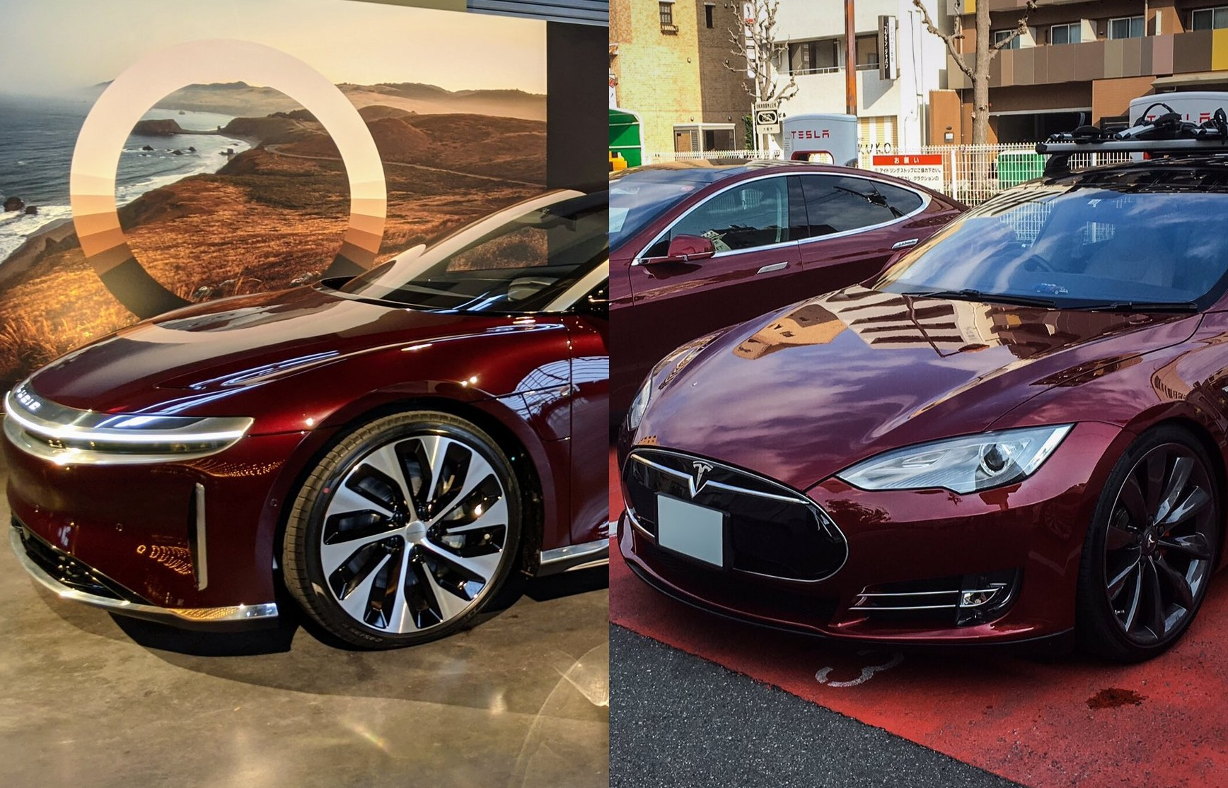 lucid-tesla-red