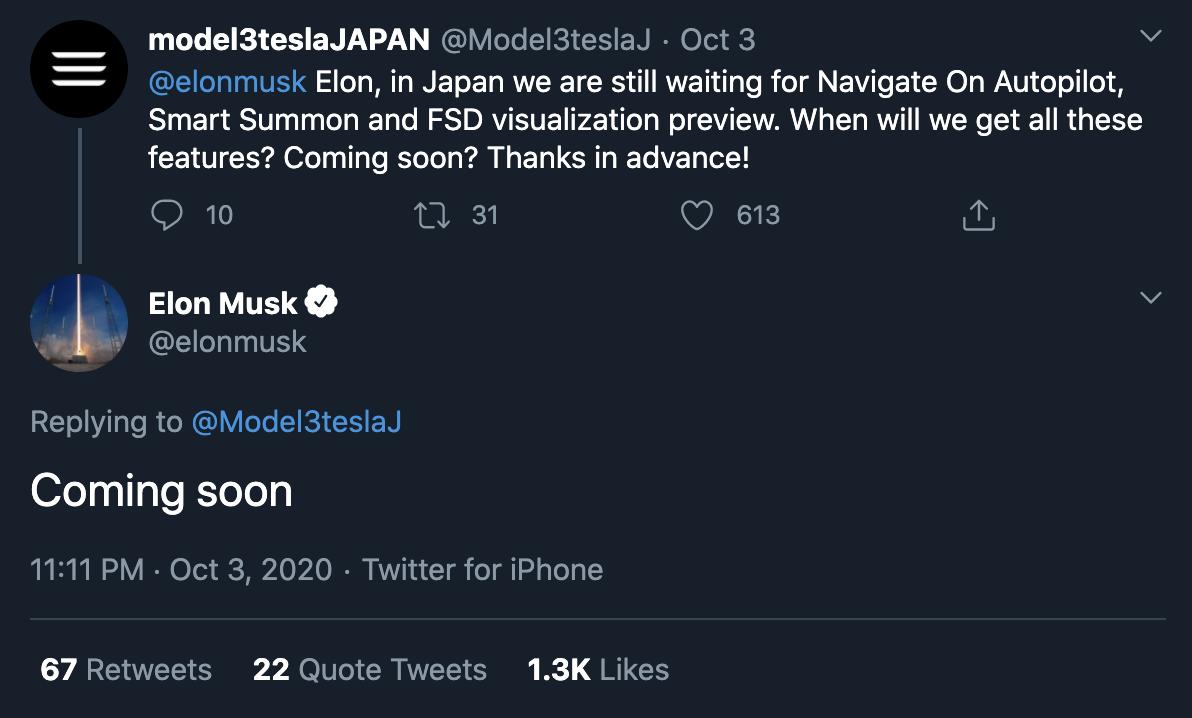 tesla-elon-musk-japan-fsd-coming-soon