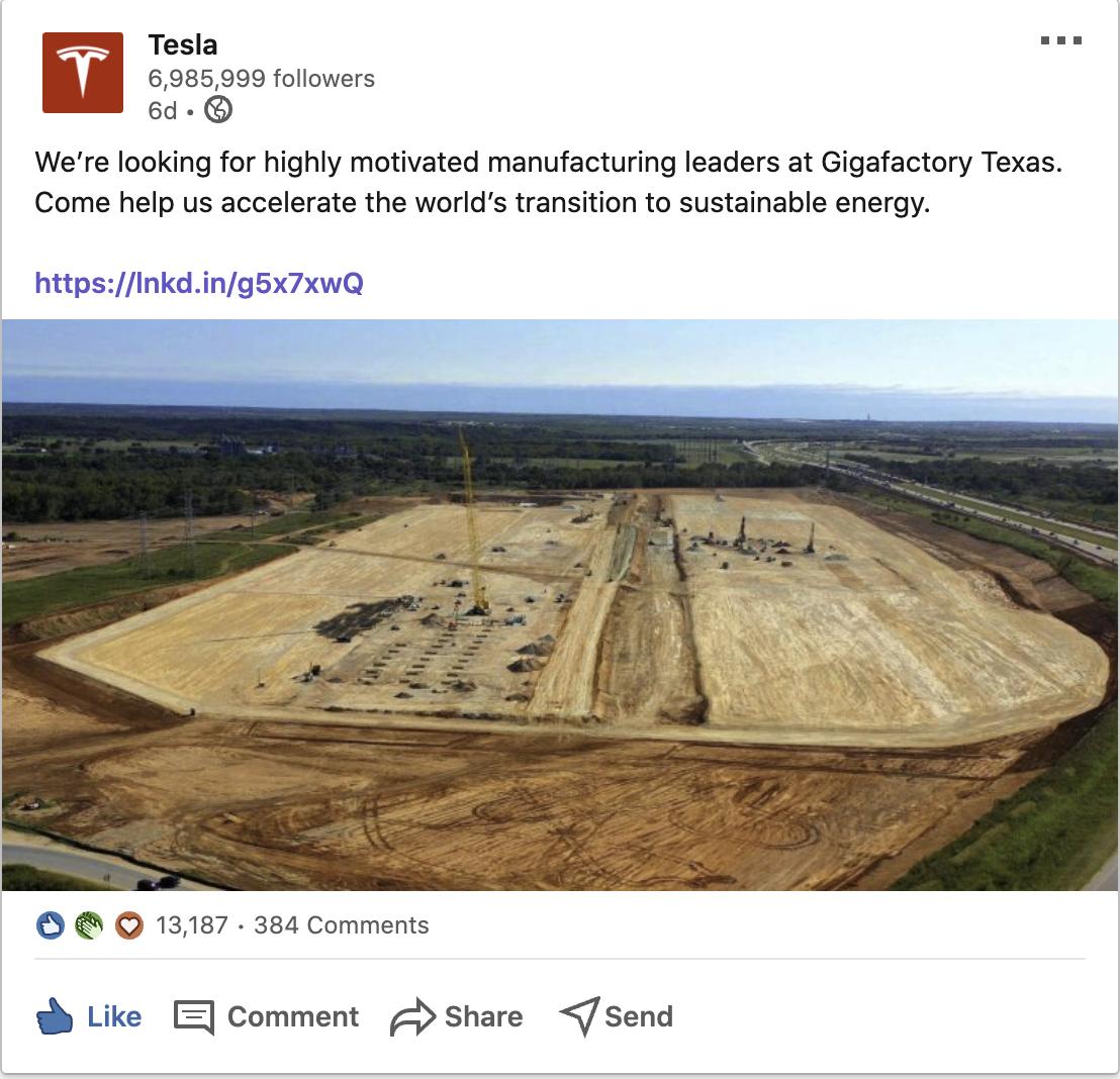 tesla-giga-texas-senior-manufacturing-leader-job-posting