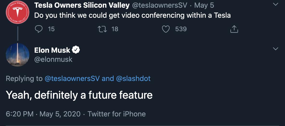 tesla-in-car-conferencing