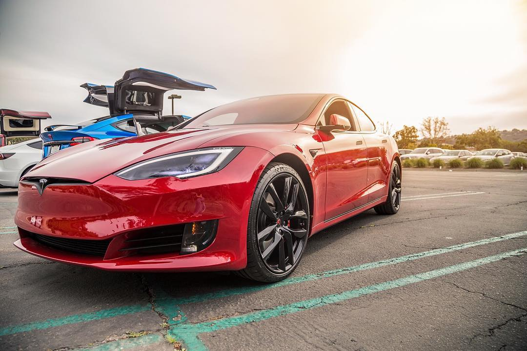 Elon Musk cuts Tesla Model S base price to $69,420