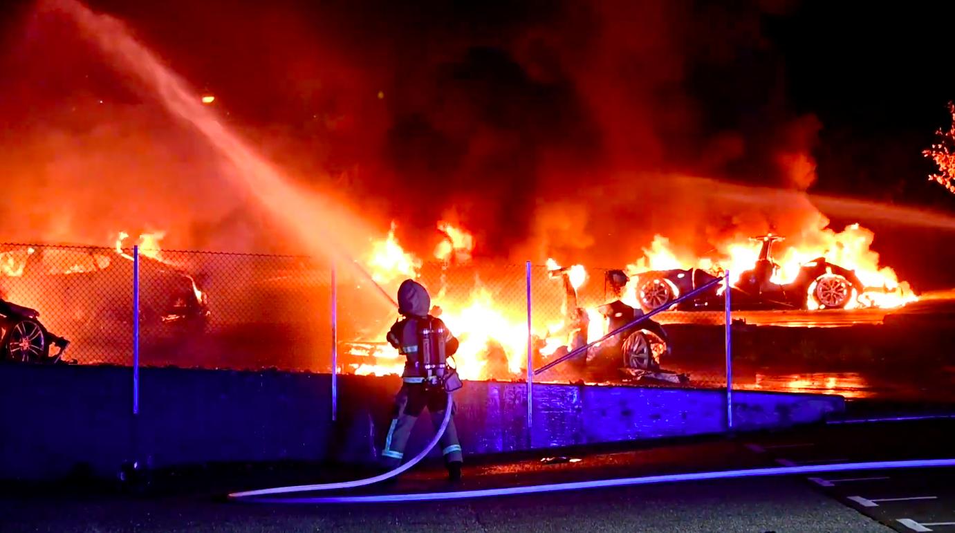 tesla-sweden-arson