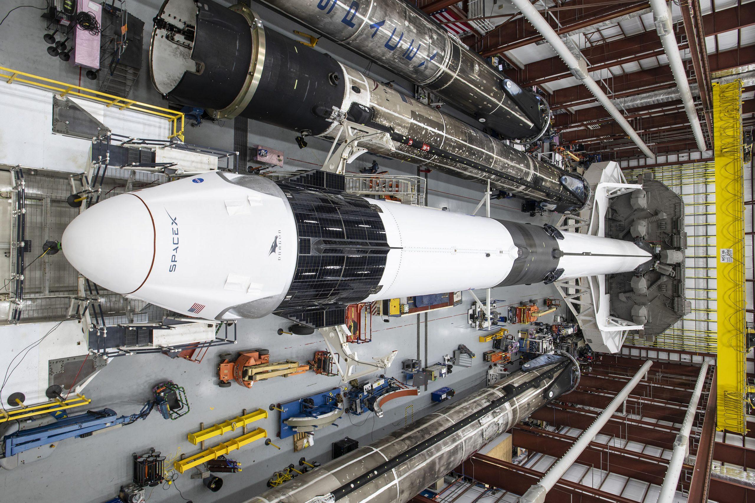 Crew-1 Crew Dragon C207 Falcon 9 B1061 39A 110820 (SpaceX) B1049 B1058 1
