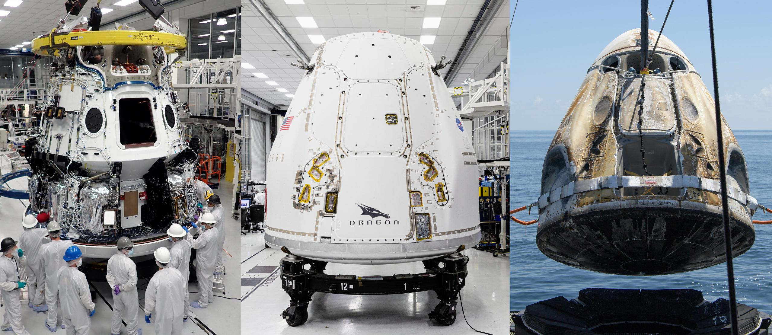 Crew Dragon Cargo Dragon CRS-21 Demo-2 (SpaceX – NASA) 1 (c)