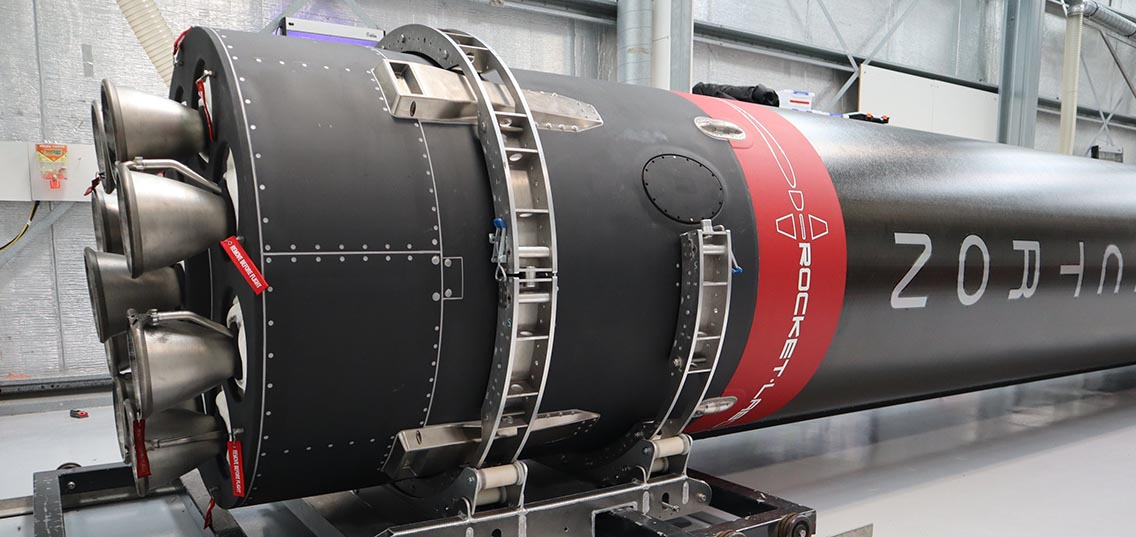 Rocket Lab Electron 16 Return to Sender Red