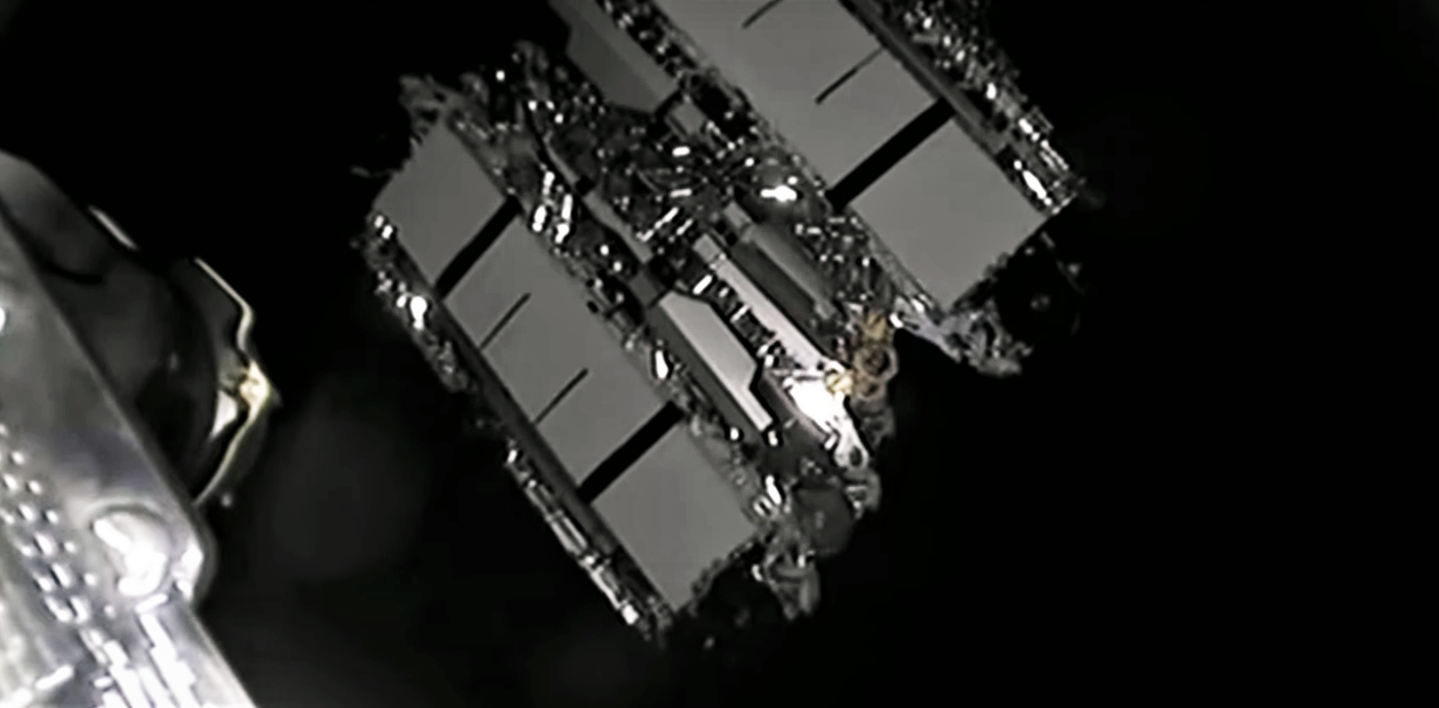 Starlink-15 Falcon 9 B1049 LC-40 112420 webcast (SpaceX) deploy 1