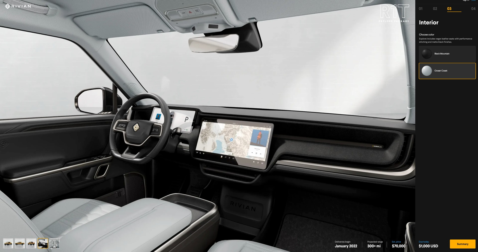 rivian-r1t-interior-colors