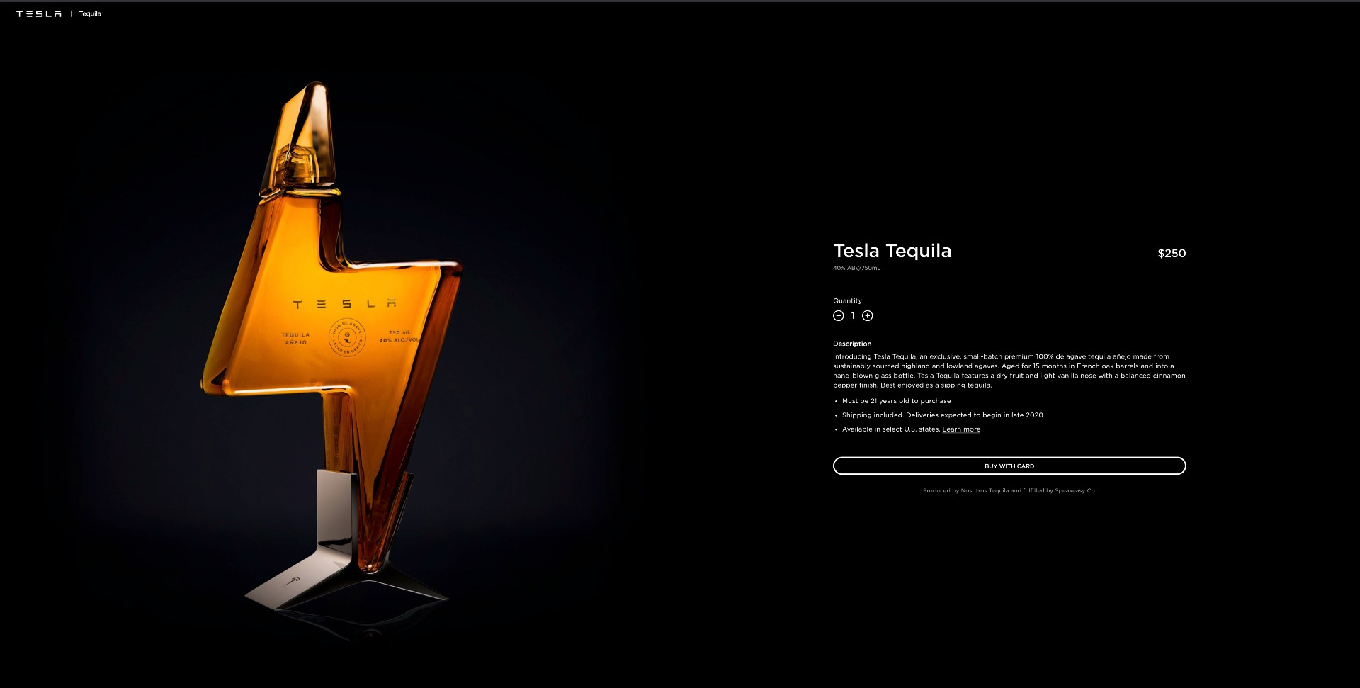 tesla-tequila-website