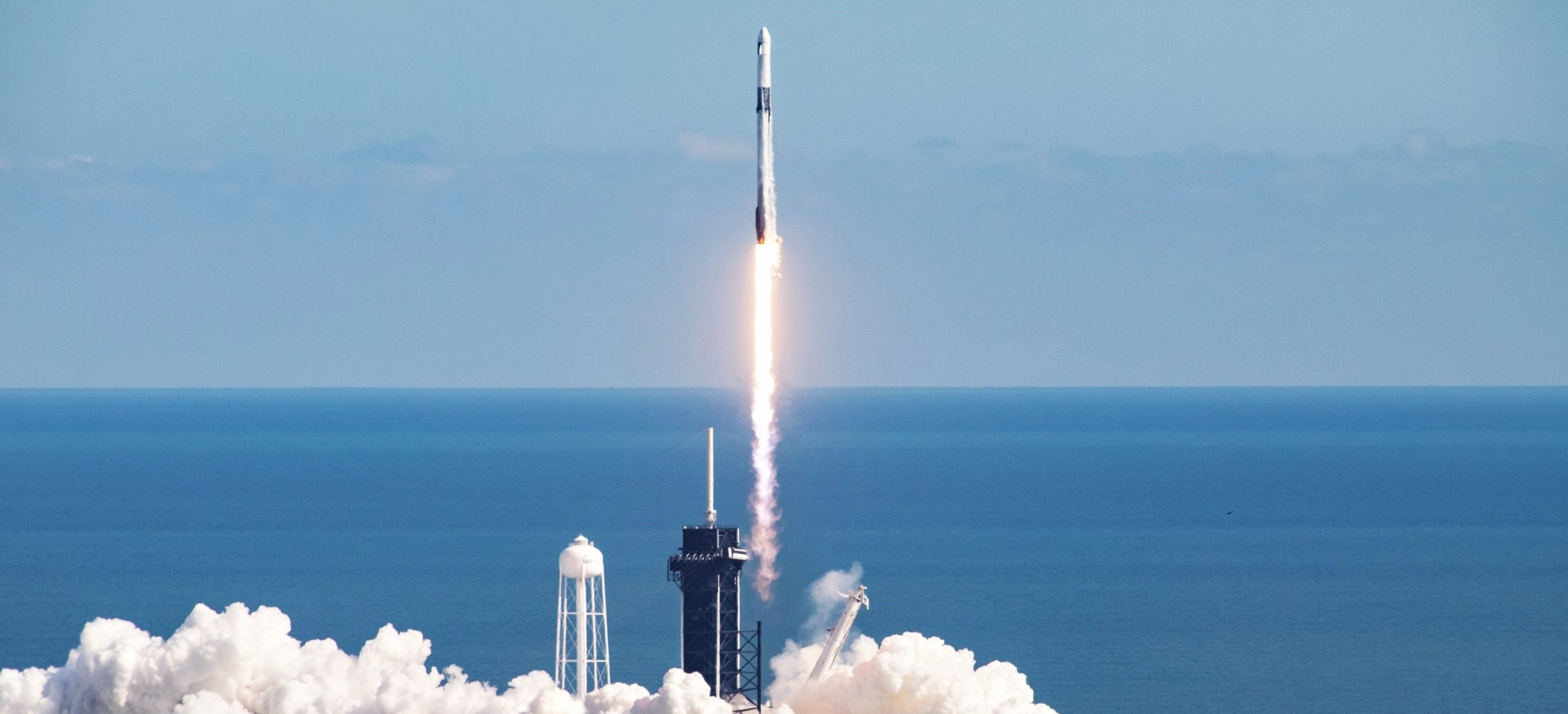 CRS-21 Cargo Dragon 2 Falcon 9 B1058 120620 launch (NASA) 1 crop