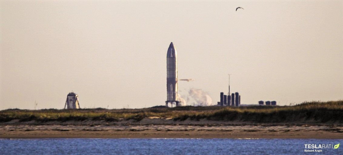 Starship Boca Chica 120820 (Richard Angle) SN8 launch abort 1