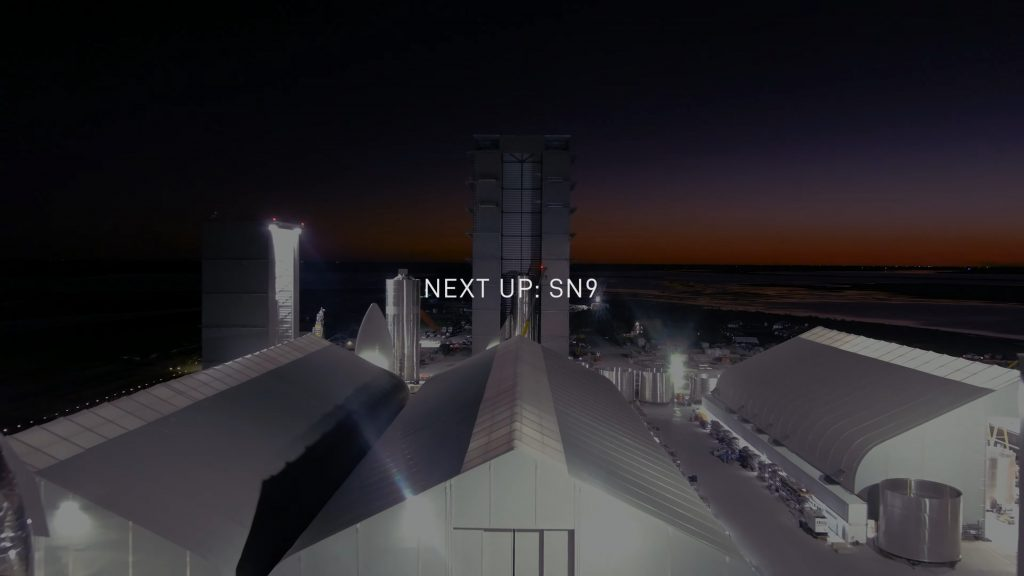 Starship SN8 launch recap 120920 SpaceX SN9 factory overview 1 SpaceX Boca Chica
