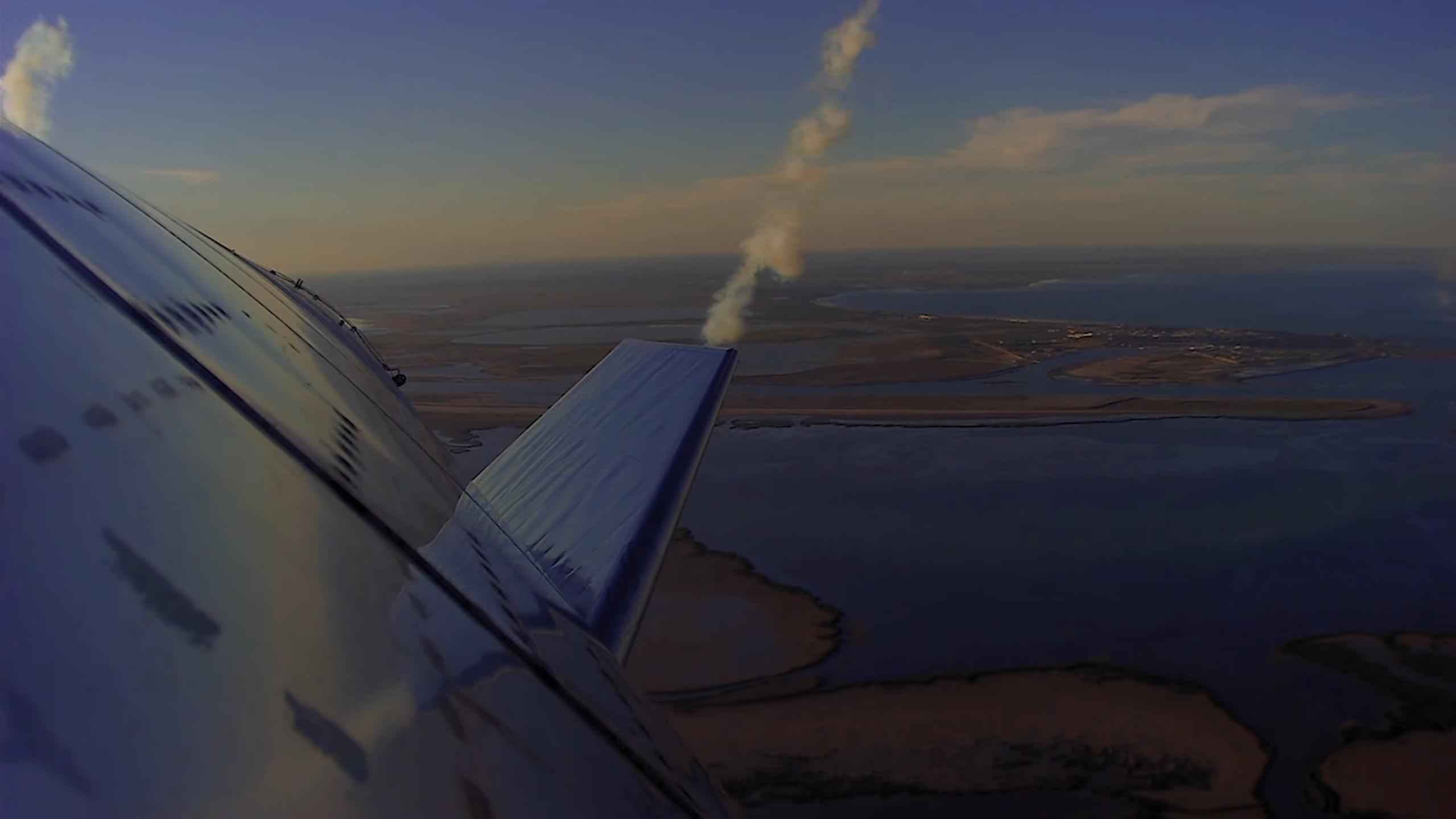 Starship SN8 launch recap 120920 (SpaceX) descent 8 (c)