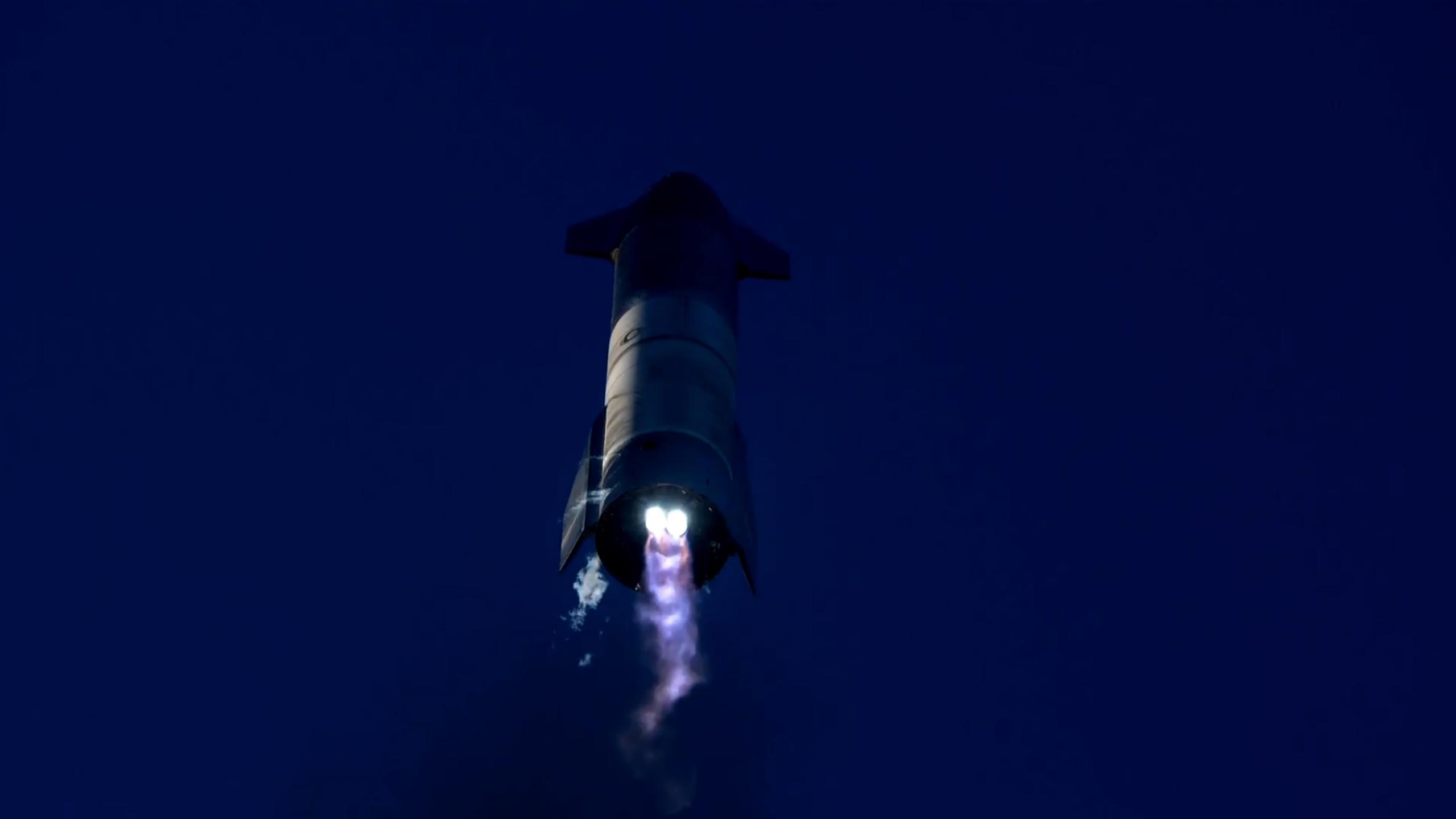 Starship SN8 launch recap 120920 (SpaceX) flip 3 (c)