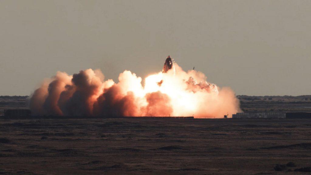 Starship SN8 launch recap 120920 SpaceX impact 1 c SpaceX Boca Chica