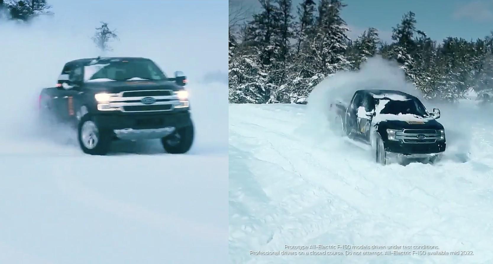 ford-f-150-ev-snow