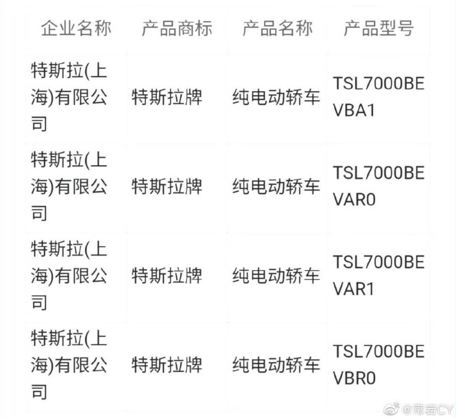 tesla-model-3-variants-weibo