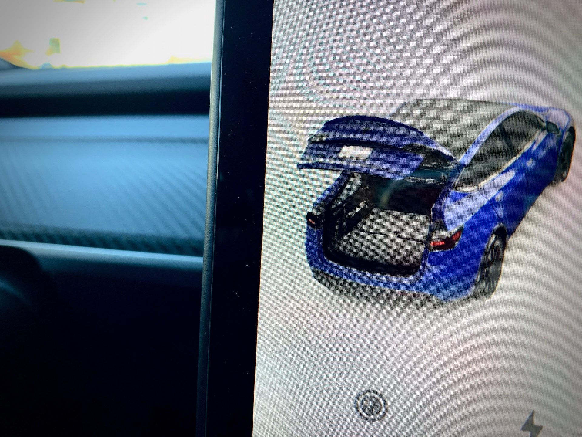 Tesla Model Y 7-Seat Folded 3rd Row Rear Seats (Photo: Teslarati)