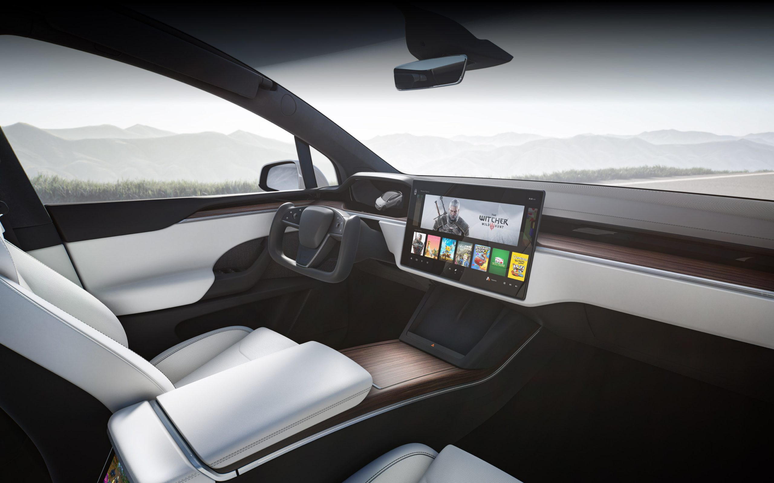 Model X refresh 2020 Q4 2020 (Tesla) interior 1