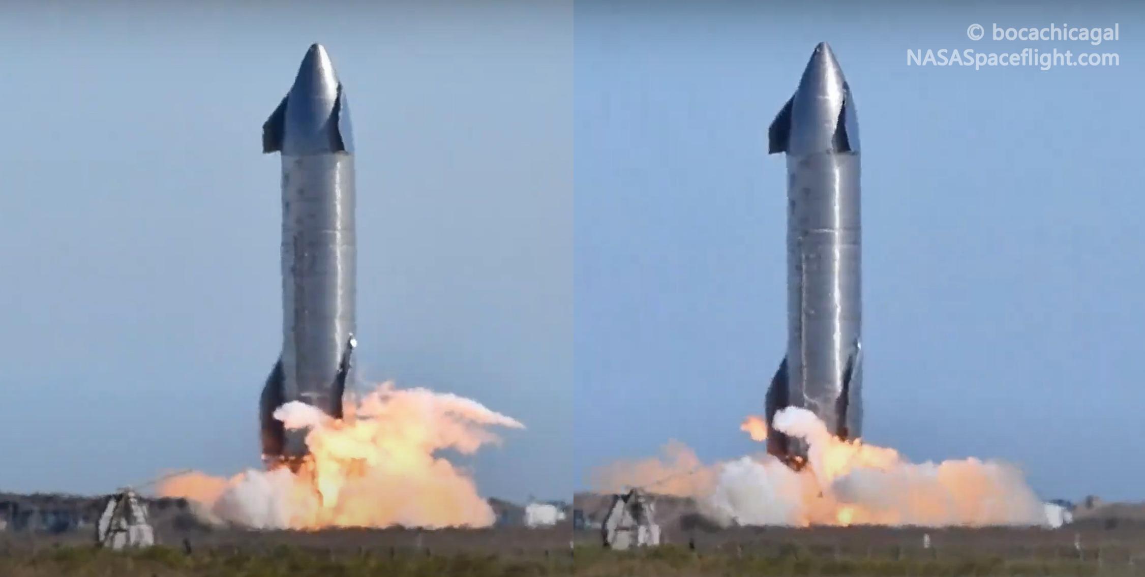 Starship Boca Chica 011321 (NASASpaceflight – bocachicagal) SN9 static fire attempt #2 #3 1