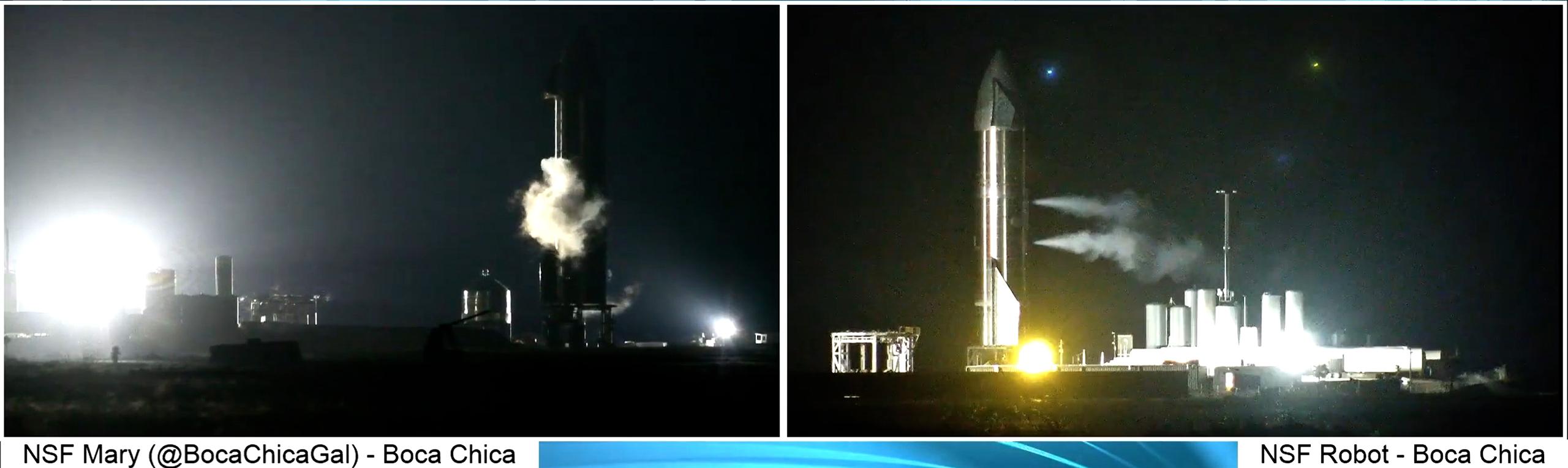 Starship Boca Chica 012021 (NASASpaceflight – bocachicagal) SN9 static fire aborts 1 (c)
