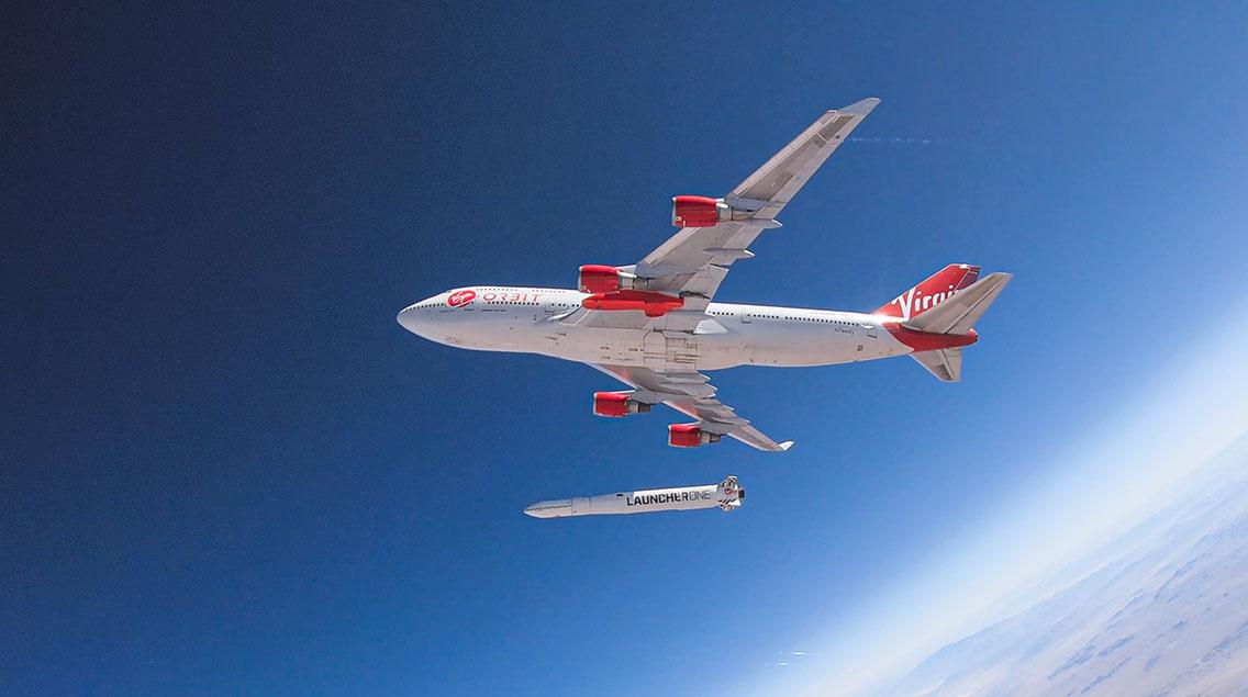 Virgin Orbit Cosmic Girl 747 LauncherOne