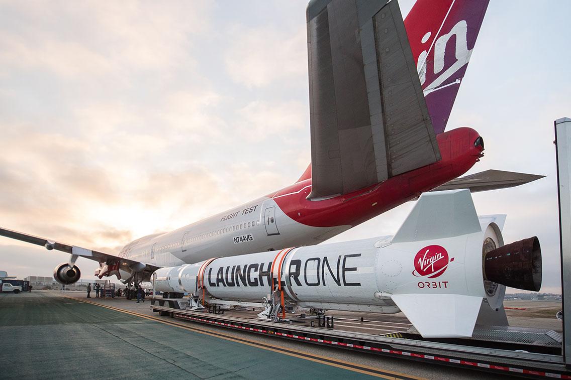 Virgin Orbit LauncherOne