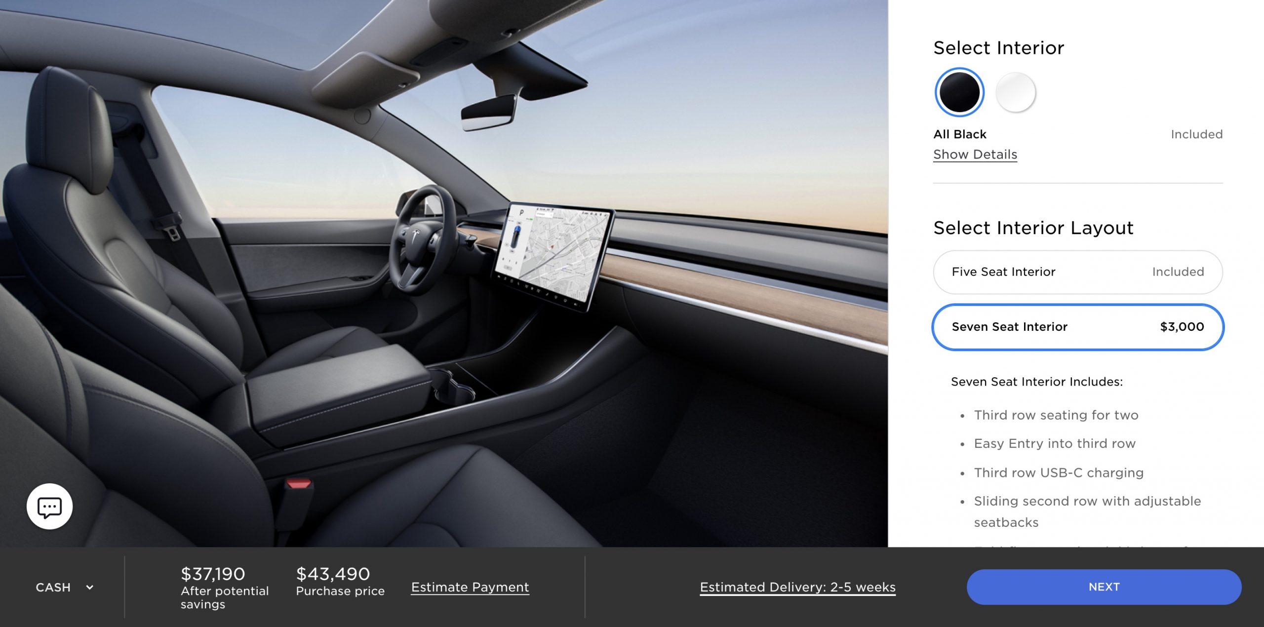 tesla-model-y-seven-seater-standard-range-option-now-available