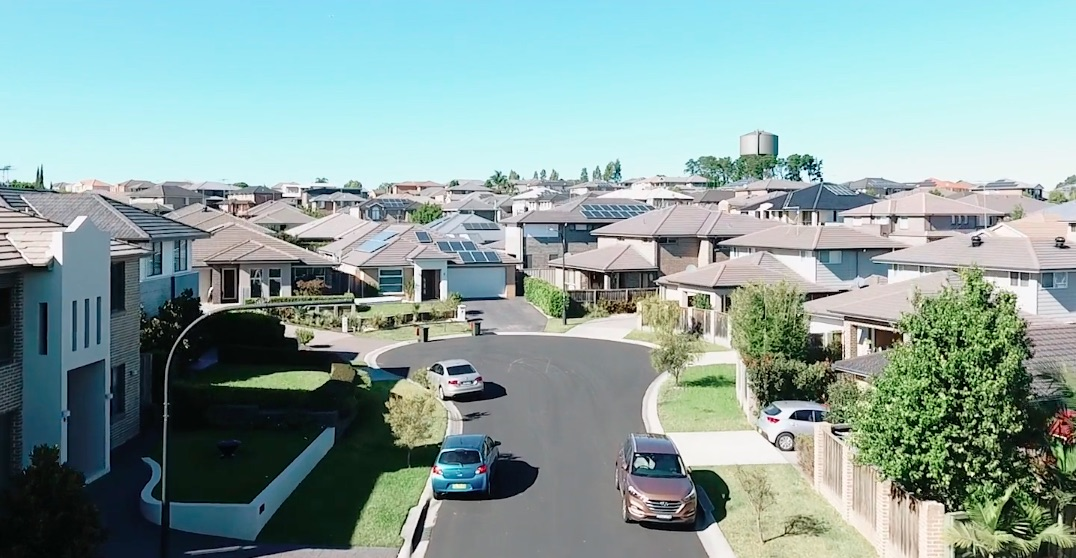 photo of Tesla Powerwalls selected for first 100% solar and battery neighborhood in Australia image