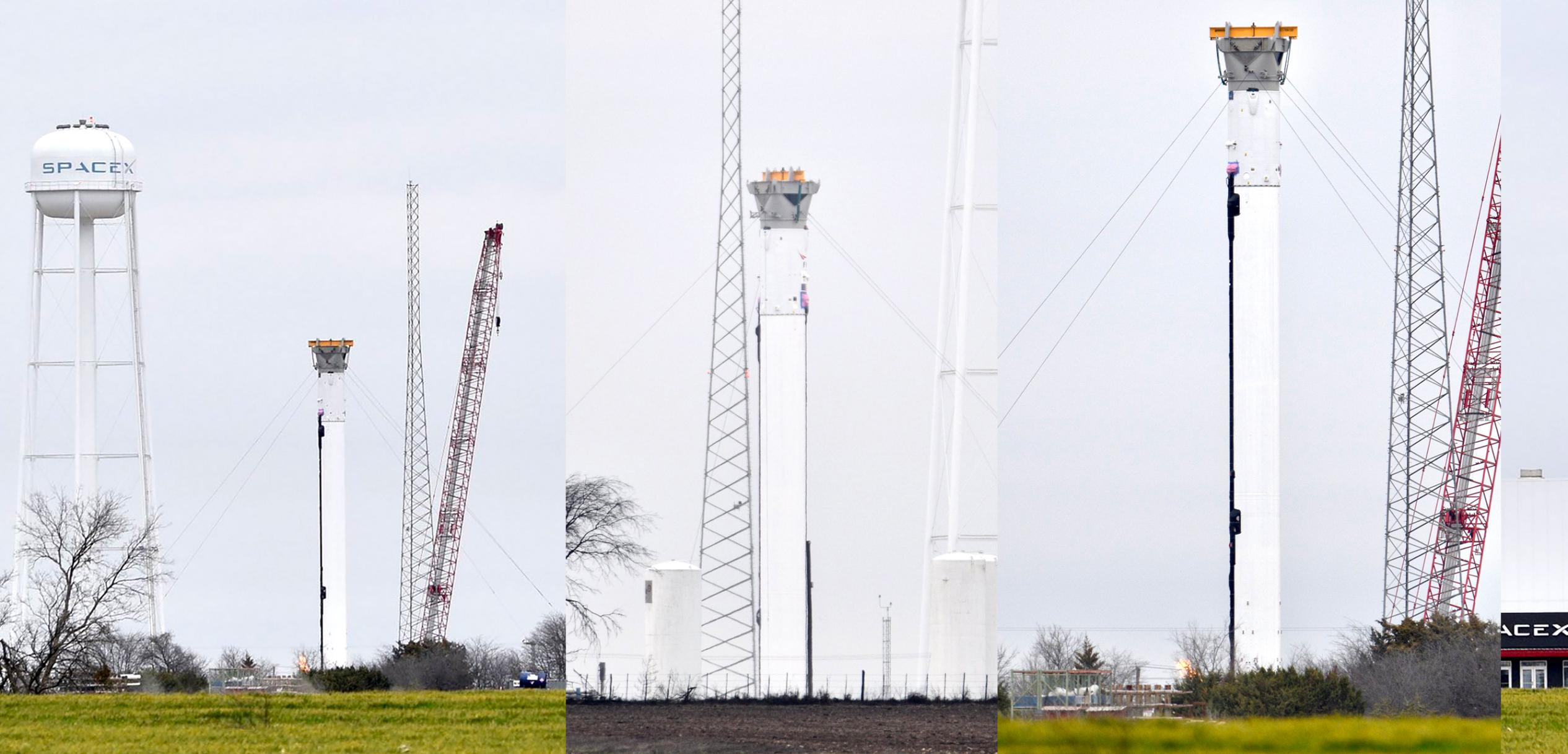 Falcon Heavy Flight 4 center core McGregor 022521 (jswartzphoto – Twitter) panel 1 (c)