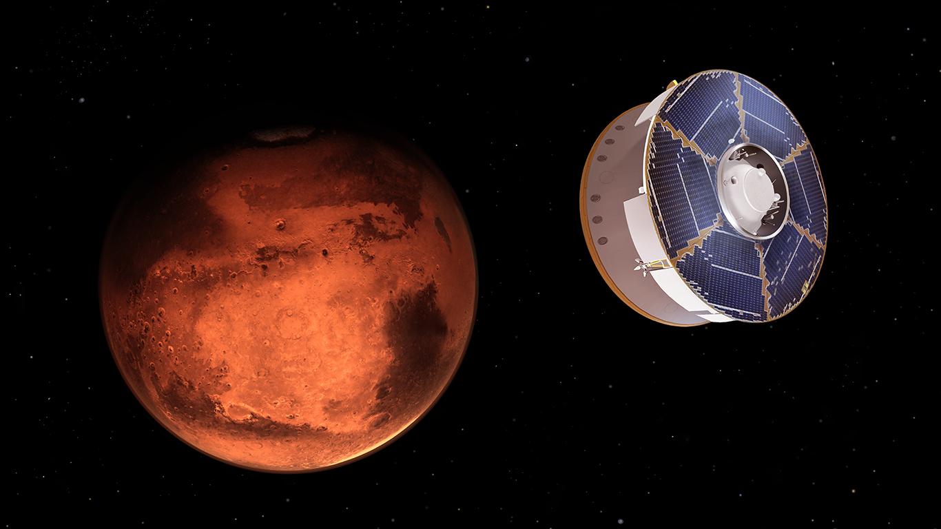 NASA Mars Perseverance approach