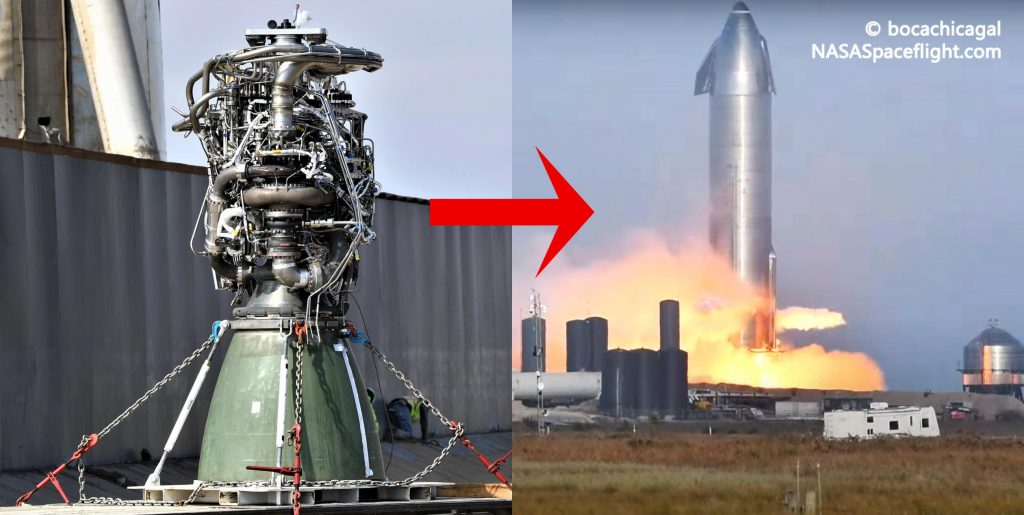 "SpaceX swaps ""suspect"" Starship engine in record time - Teslarati"