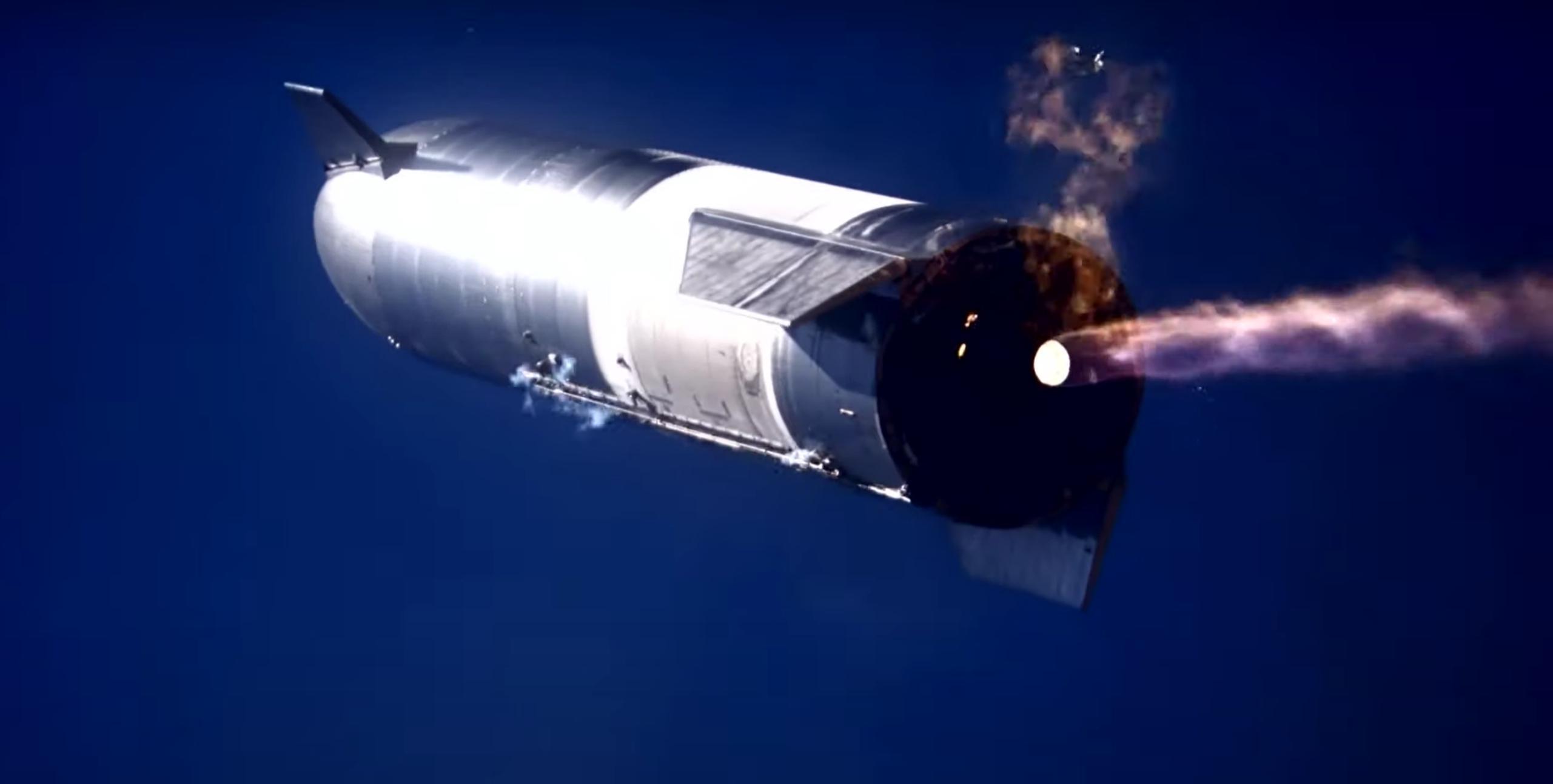 Starship SN9 launch (SpaceX) landing attempt 3 crop (c)