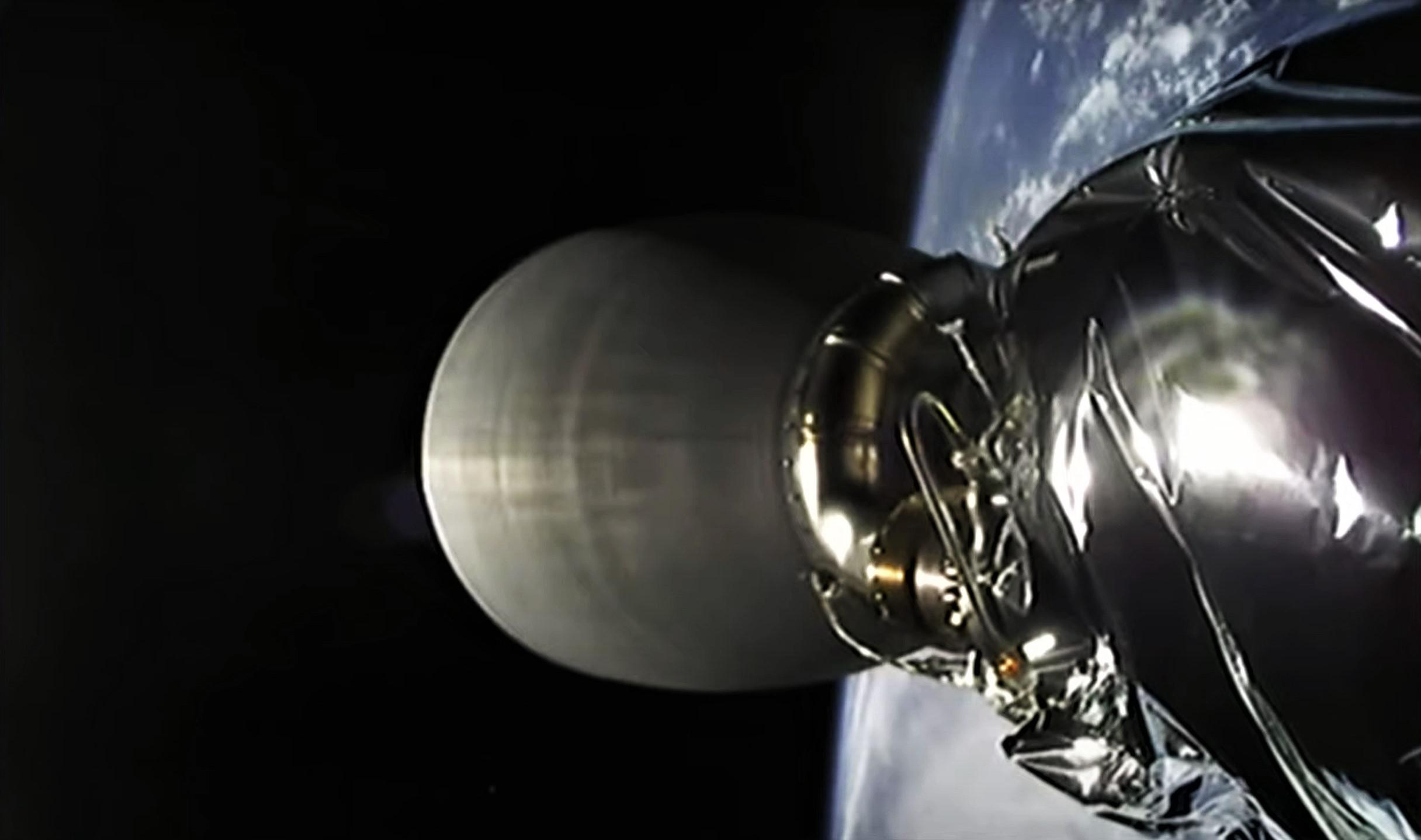 Starlink-20 Falcon 9 B1058 LC-40 031121 webcast (SpaceX) SES2 4